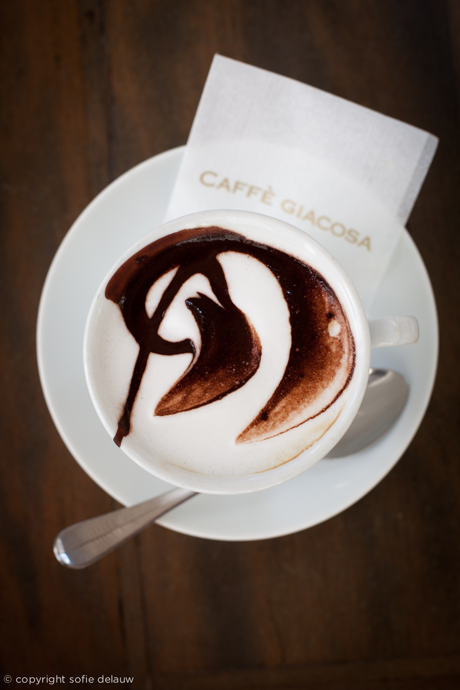 coffee bar image editorial food photography Firenze Florence Italy