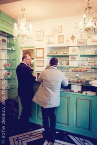 Italian pastery Florence food photography travel foodie images pastery store
